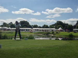 Darren Hayes sent in this photo taken at the Irish Open on Friday