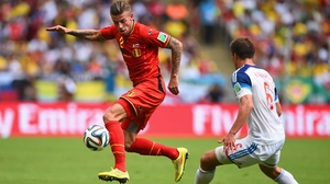 While Belgium defender Toby Alderweireld maintained the steady pace against Russia forward Maksim Kanunnikov