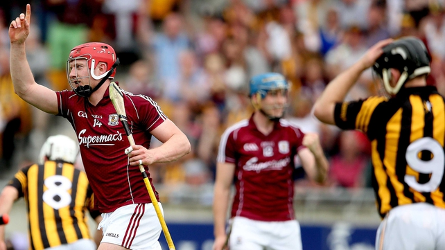 Joe Canning scored a last-gasp equaliser for Galway