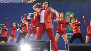 A few days prior, South Korean pop phenom Psy had performed to a massive crowd in Seoul