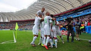 Algeria made five changes to the side beaten by the Belgians and reaped the reward