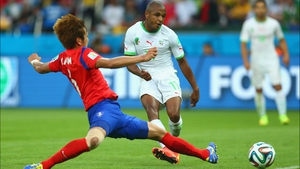 But then, Algeria midfielder Yacine Brahimi extended his side's lead back to three goals at 62'