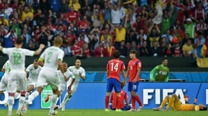 Up 4-1, it seemed Algeria had hammered down the final nail in South Korea's coffin
