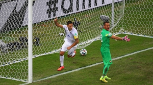 And eventually, Dempsey produced another magic moment at 81' with a goal off his gut that flew right past Portugal keeper Beto