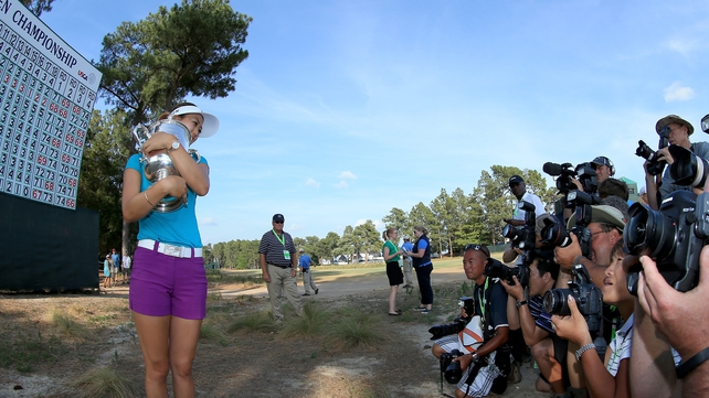 Michelle Wie, once thought of as destined for greatness, won the US Open at Pinehurst