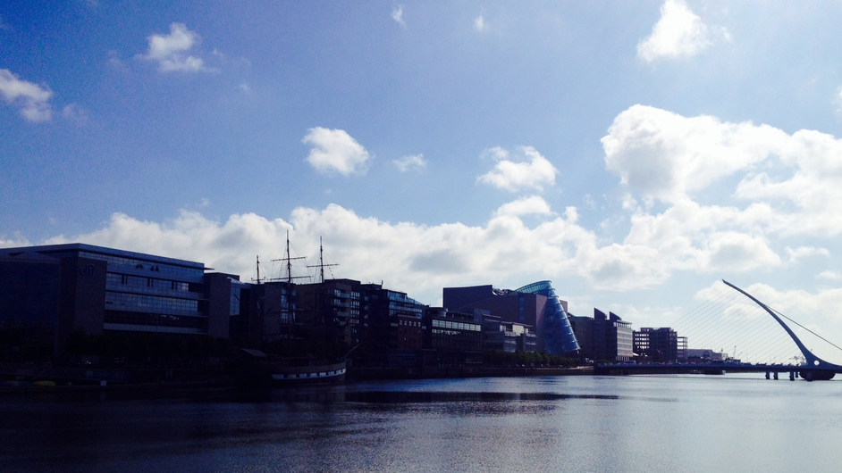 Dublin in the sunshine (Pic: Corina McGuinness)