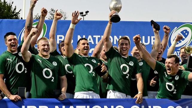 Emerging Ireland beat Russia, Uruguay and Romania