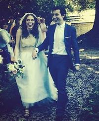 Stylist and presenter Angela Scanlon weds