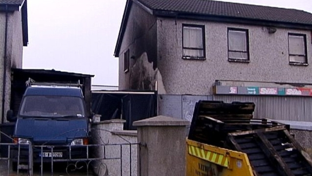 Dermot Griffin set fire to a makeshift den in Tallaght in September 2001