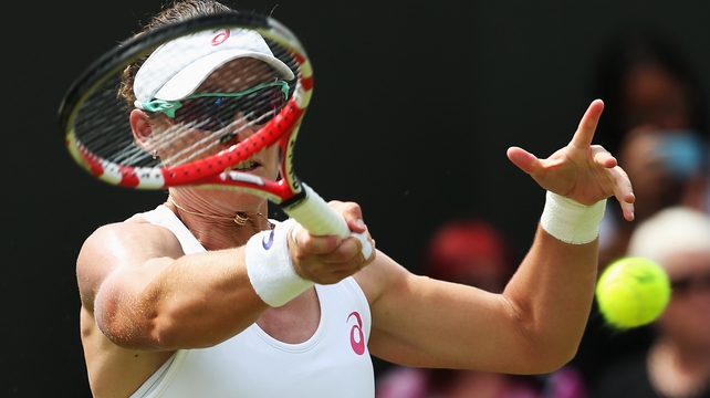 Samantha Stosur has yet to go beyond the third round at Wimbledon in 12 attempts