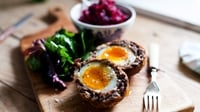 Scotch Eggs - The perfect picnic food, Scotch eggs are deliciously soft and crunchy.