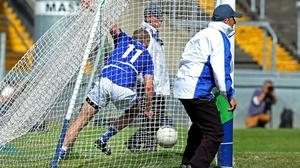 Billy Sheehan scored Laois's goal in their qualifier win over Fermanagh in  Portlaoise