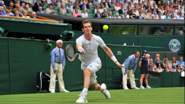 Andy Murray faces Slovenian left-hander Blaz Rola in the second game of his title defence