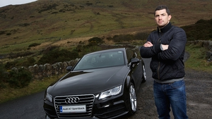 Audi Ireland brand ambassador Rob Kearney