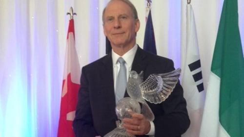 Award presented to Richard Haass in Co Tipperary