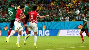 Mexico go 1-0 up