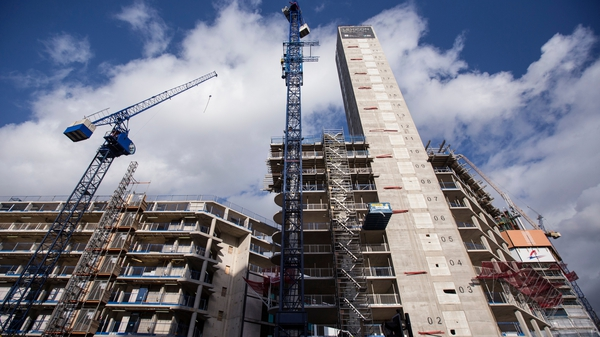 Aecom is forecasting that construction output will be around €22 billion this year.