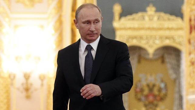 Russian politicians are to discuss Vladimir Putin's request tomorrow
