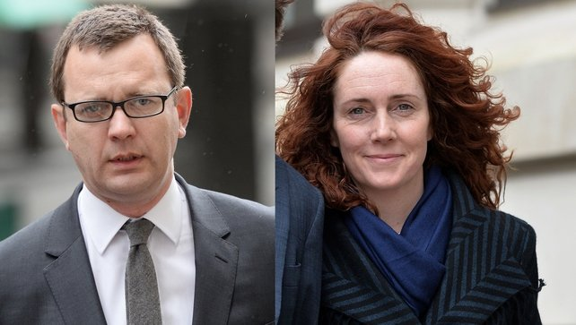 Andy Coulson was found guilty of conspiracy to hack phones while Rebekah Brooks was cleared of all charges