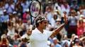 Federer blitzes Lorenzi at Wimbledon
