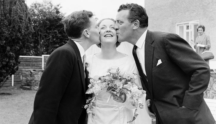 Gay Byrne, Kathleen Watkins and Eamonn Andrews (1964)