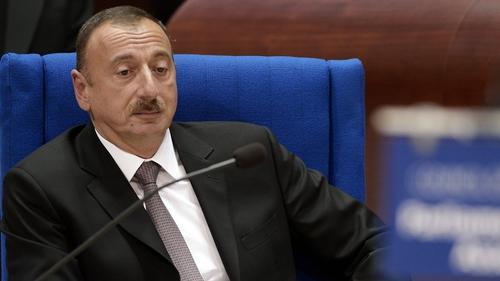 Ilham Aliyev accused the Ennis TD of using false information, slander and rumours