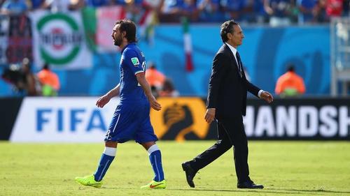 Prandelli takes responsibility for Italy's failure to progress to the knock-out phase