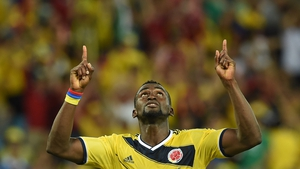 Jackson Martinez' second goal put the game beyond Japan