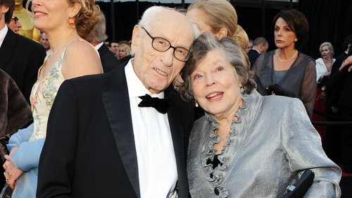Eli Wallach and his wife of 66 years Anne Jackson at the 2011 Oscars