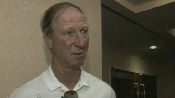Sideline Ban for Jack Charlton