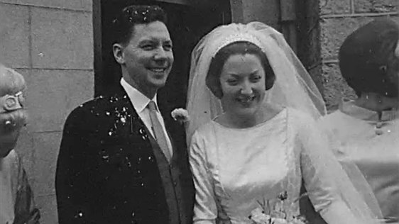 Wedding of Gay Byrne and Kathleen Watkins