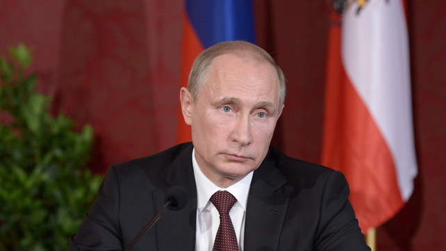 Vladimir Putin yesterday requested the removal of the 'right'