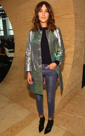 Alexa Chung designed her own denim collection