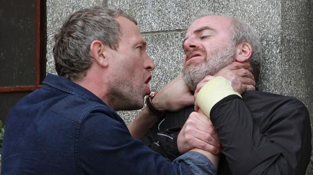 Dan loses his temper and attacks Eoghan