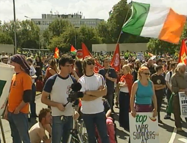 Shannon Anti-War Protest 2004
