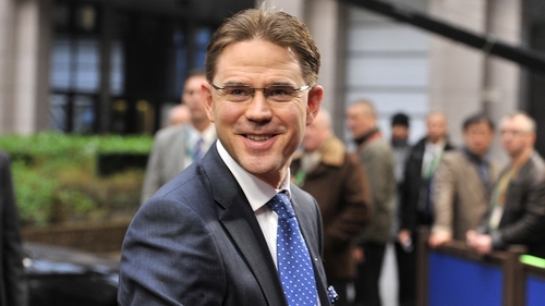 Finland's Jyrki Katainen named as EU's interim Economics Affairs commissioner