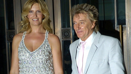 Rod and Penny in 2007, the year they married.