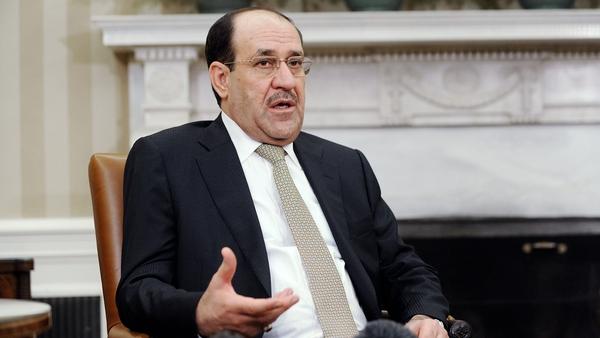 Nouri al-Maliki electoral bloc won by far the most seats in parliamentary elections in April