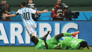 The Messi effect: Argentina's finest leaves defenders crumpled in his wake