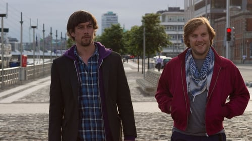 Killian Scott and Peter Coonan in Get Up and Go one of the new films premiering at this year's Galway Film Fleadh