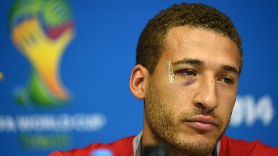 Why so sad, Fabian Johnson? The US defender answers journalists during a press conference