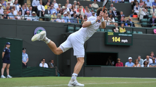 Andy Murray had far too much ability for Slovenian Blaz Rola