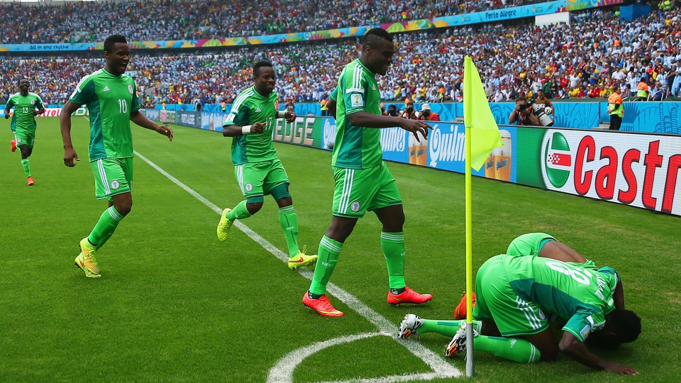 Musa's team-mates, appreciative of his quick response for Nigeria
