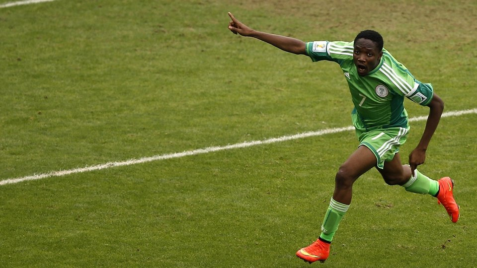 Ahmed Musa put in quite a shift, scoring two goals of his own to keep Nigeria in contention against Argentina