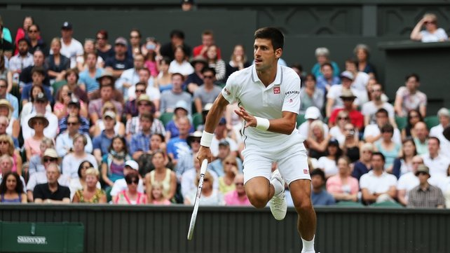 Novak Djokovic survived a tricky assignment to advance