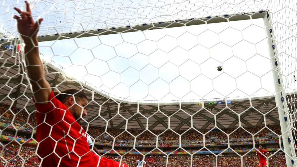 Ricardo Rodriguez found the net for Switzerland, but it was only to clear the ball off the goal line