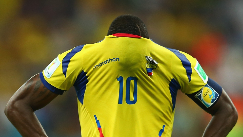 Ecuador's exit goes to Walter Ayovi's head
