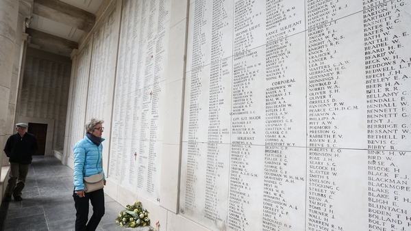 EU heads of government will attend the ceremonial Last Post at the Menin Gate