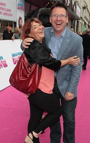 Brenda O'Donoghue and Derek Mooney