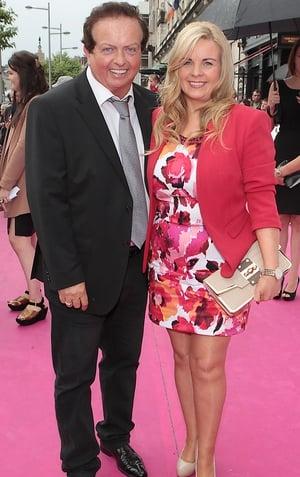 Marty Morrissey and Liz Richardson